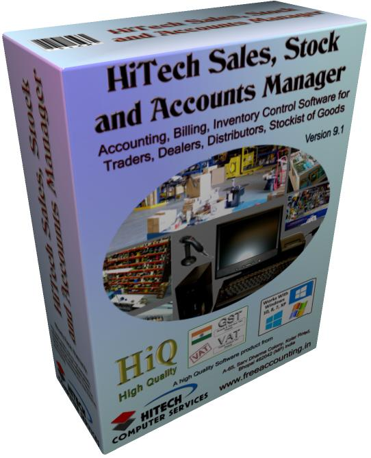 Inventory Accounts Software, HiTech Billing, Accounting